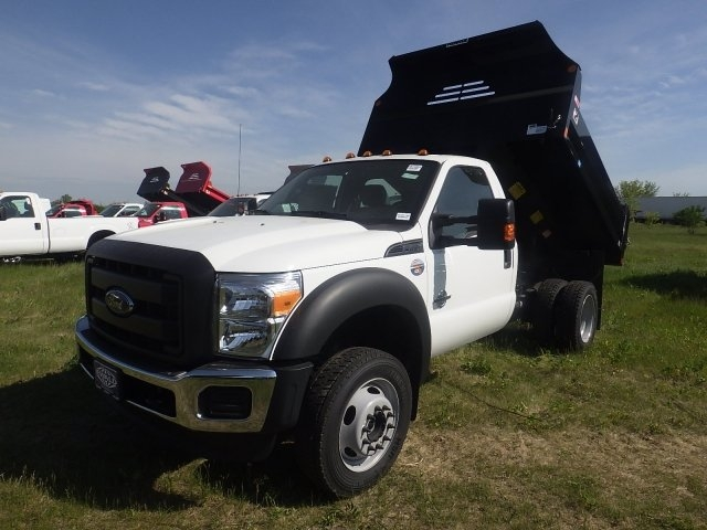 2016 F-450 Regular Cab DRW 4x4, Monroe Dump Body #HR15853 - photo 12