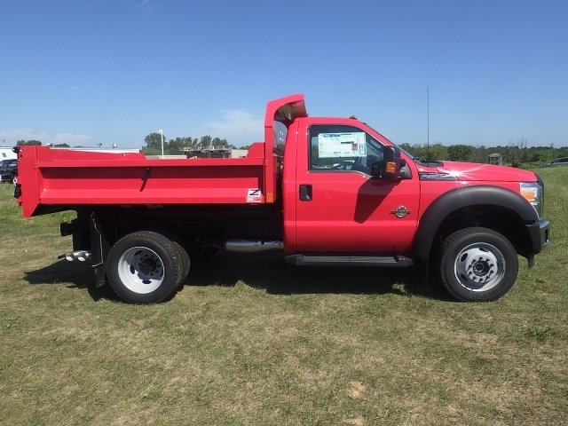 2016 F-550 Regular Cab DRW 4x4, Monroe Dump Body #HR16474 - photo 3