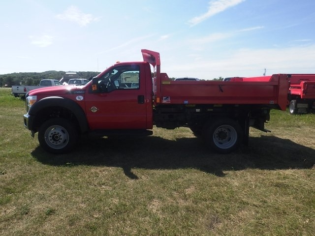 2016 F-550 Regular Cab DRW 4x4, Monroe Dump Body #HR16474 - photo 8