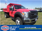 2016 F-550 Regular Cab DRW 4x4, Monroe Dump Body #HR16474 - photo 1