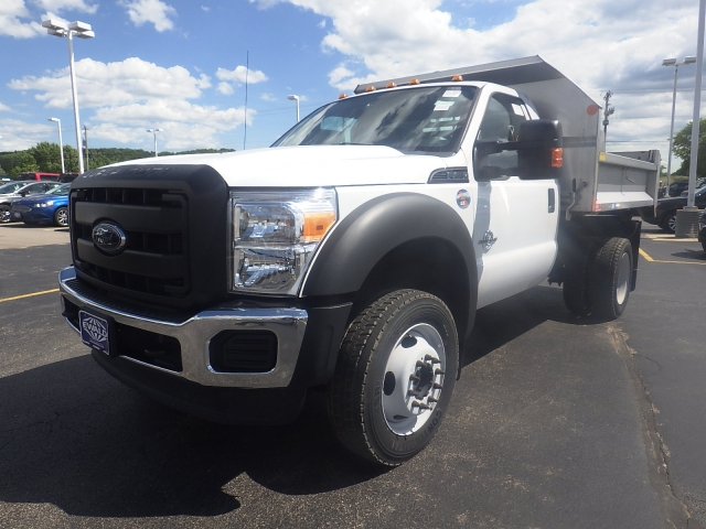 2016 F-450 Regular Cab DRW 4x4, Dump Body #HR16894 - photo 9