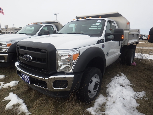 2016 F-450 Regular Cab DRW 4x4, Dump Body #HR16894 - photo 4
