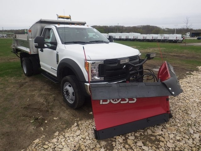 2017 F-550 Regular Cab DRW 4x4, Dump Body #HS17713 - photo 3