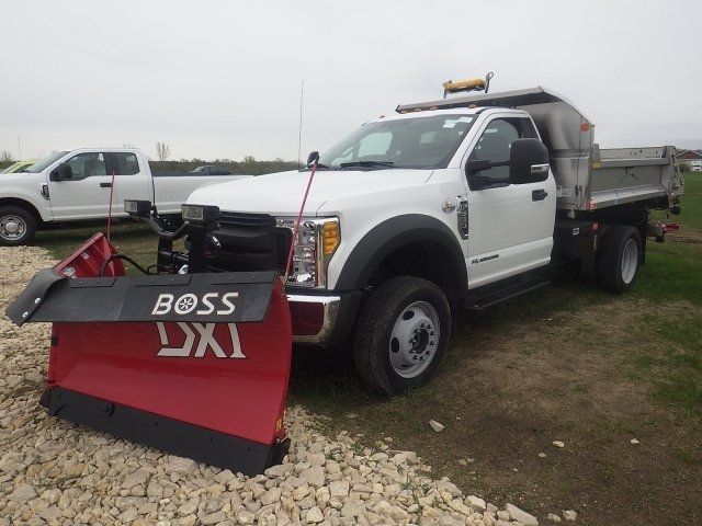 2017 F-550 Regular Cab DRW 4x4, Dump Body #HS17713 - photo 14