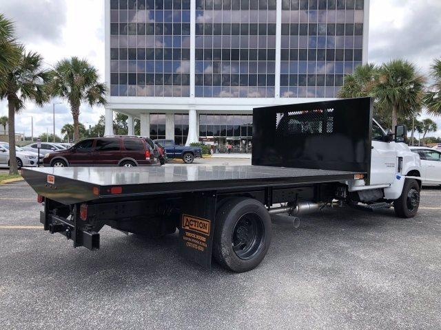 2019 Chevrolet Silverado Medium Duty Regular Cab DRW RWD, Action Fabrication Platform Body #C196355 - photo 1