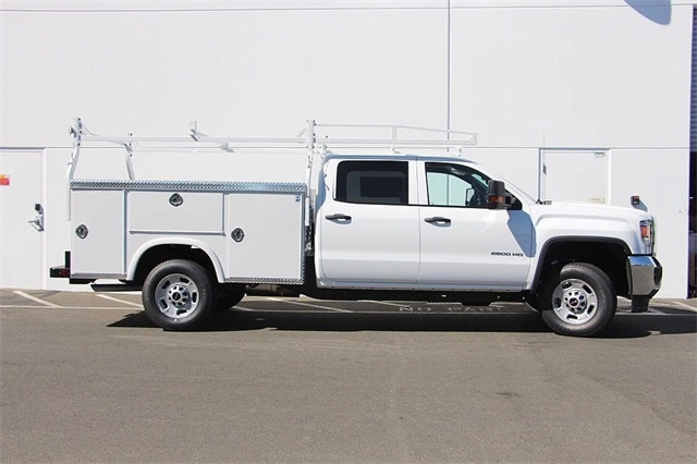 2018 Sierra 2500 Crew Cab 4x2,  Royal Service Body #181624 - photo 6