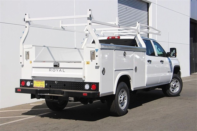 2018 Sierra 2500 Crew Cab 4x2,  Royal Service Body #181624 - photo 2
