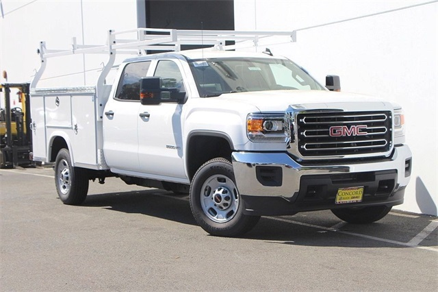 2018 Sierra 2500 Crew Cab 4x2,  Royal Service Body #181787 - photo 3