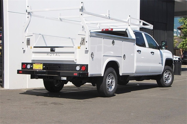 2018 Sierra 2500 Crew Cab 4x2,  Royal Service Body #181787 - photo 2
