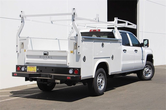 2018 Sierra 2500 Crew Cab 4x2,  Royal Service Body #181788 - photo 2