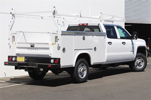 2018 Sierra 2500 Crew Cab 4x2,  Royal Service Body #181789 - photo 2