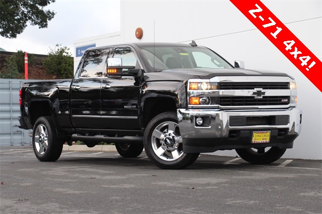 2017 Silverado 2500 Crew Cab 4x4,  Pickup #181911A - photo 1