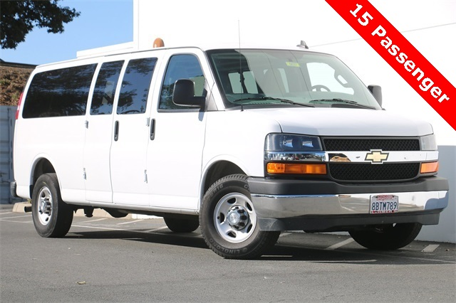 2017 Chevrolet Express 3500, Passenger Wagon #6637 - photo 1