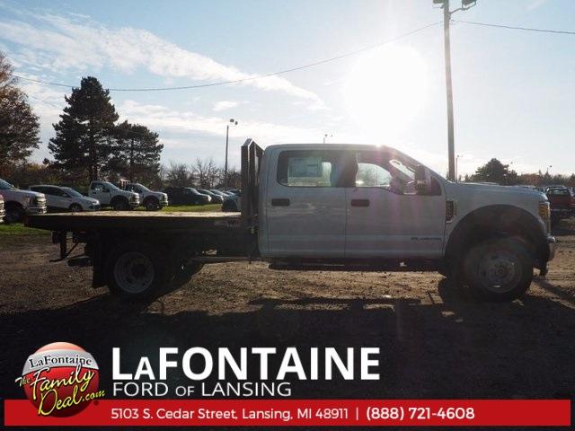 2017 F-550 Crew Cab DRW 4x4, Platform Body #17F1047 - photo 6