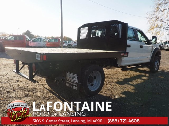 2017 F-550 Crew Cab DRW 4x4, Platform Body #17F1047 - photo 8