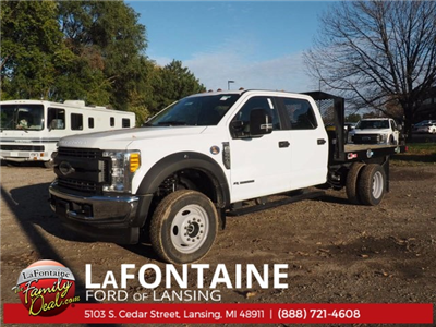 2017 F-550 Crew Cab DRW 4x4, Platform Body #17F1047 - photo 1