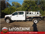 2017 F-550 Crew Cab DRW 4x4, Platform Body #17F1047 - photo 3
