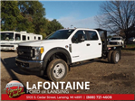 2017 F-550 Crew Cab DRW 4x4, Platform Body #17F1047 - photo 12