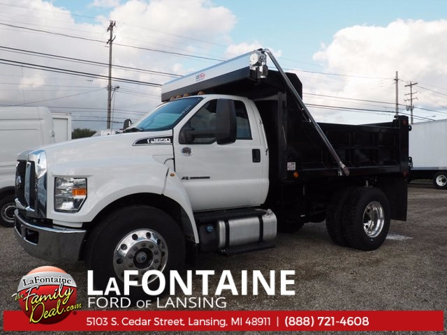 2017 F-650 Regular Cab Dump Body #17F223 - photo 10