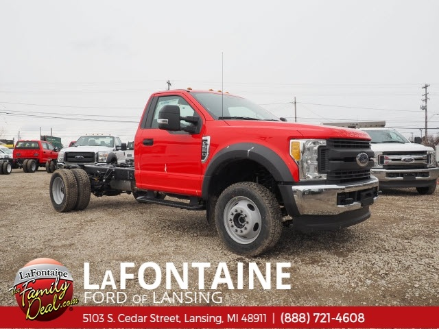 2017 F-550 Regular Cab DRW 4x4,  Cab Chassis #17F330 - photo 3