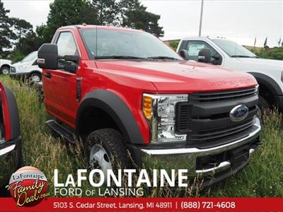 2017 F-550 Regular Cab DRW 4x4,  Cab Chassis #17F330 - photo 6