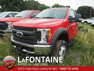 2017 F-550 Regular Cab DRW 4x4,  Cab Chassis #17F330 - photo 1