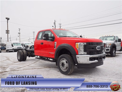 2017 F-550 Super Cab DRW 4x4 Cab Chassis #17F377 - photo 1
