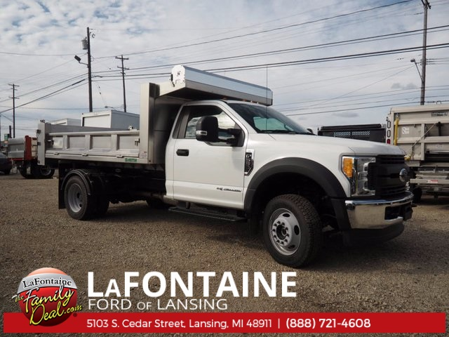 2017 F-550 Regular Cab DRW 4x4, Dump Body #17F398 - photo 4