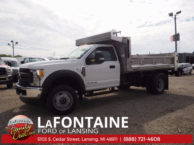 2017 F-550 Regular Cab DRW 4x4, Dump Body #17F398 - photo 9