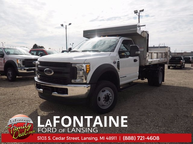 2017 F-550 Regular Cab DRW 4x4, Dump Body #17F398 - photo 3