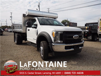 2017 F-550 Regular Cab DRW 4x4, Dump Body #17F398 - photo 1