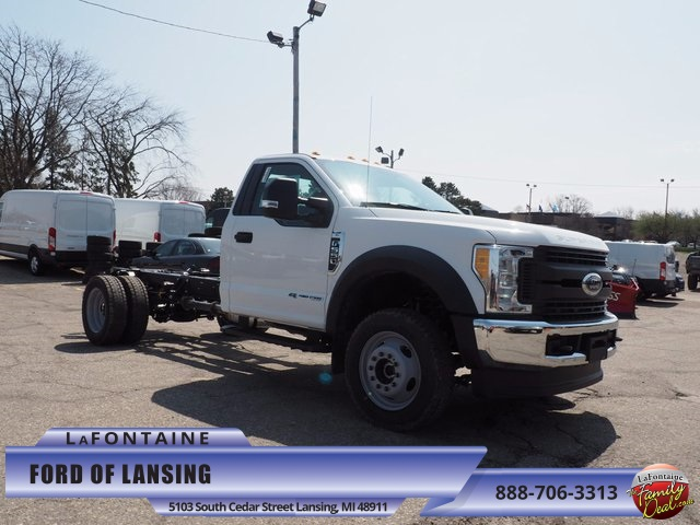 2017 F-550 Regular Cab DRW 4x4 Cab Chassis #17F504 - photo 1