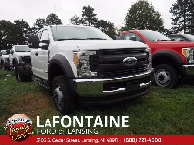 2017 F-550 Super Cab DRW 4x4,  Cab Chassis #17F844 - photo 1