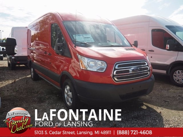 2017 Transit 250 Med Roof 4x2,  Empty Cargo Van #17F903 - photo 3