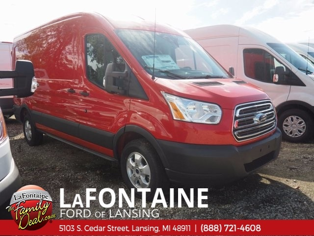2017 Transit 250 Med Roof 4x2,  Empty Cargo Van #17F903 - photo 4