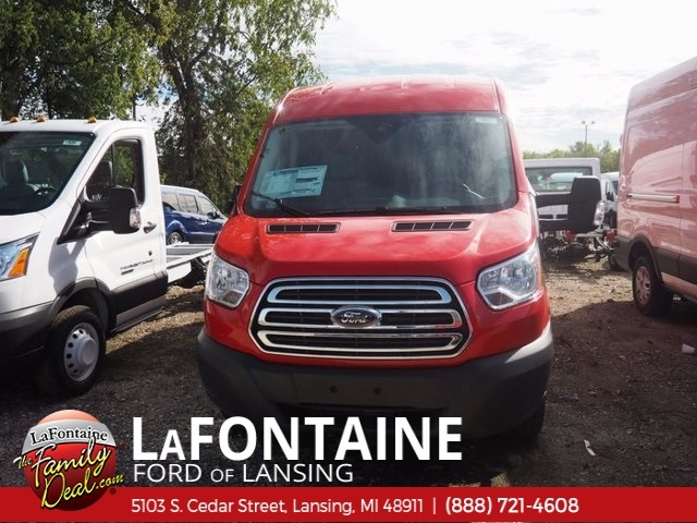 2017 Transit 250 Med Roof 4x2,  Empty Cargo Van #17F903 - photo 9