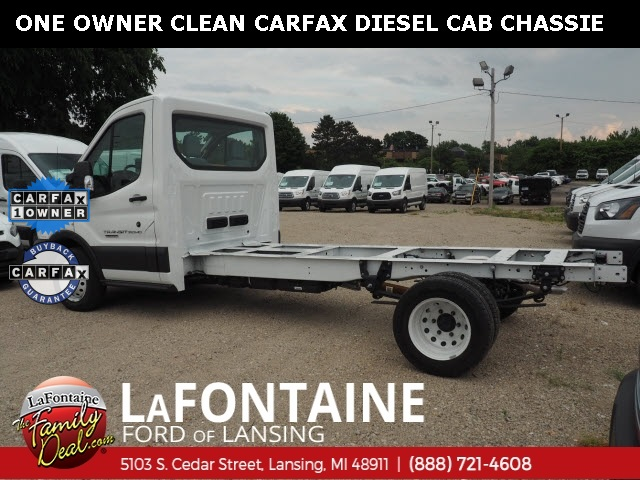 2017 Ford Transit 350 HD DRW 4x2, Cab Chassis #0F0006P - photo 1