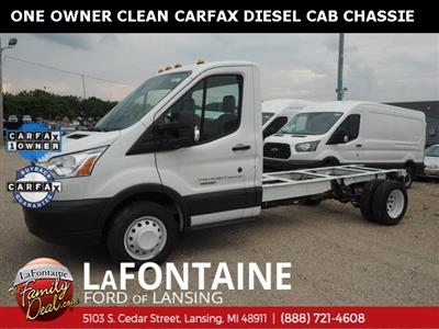 2017 Transit 350 HD DRW 4x2,  Cab Chassis #17F920 - photo 1