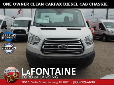2017 Transit 350 HD DRW 4x2,  Cab Chassis #17F920 - photo 8