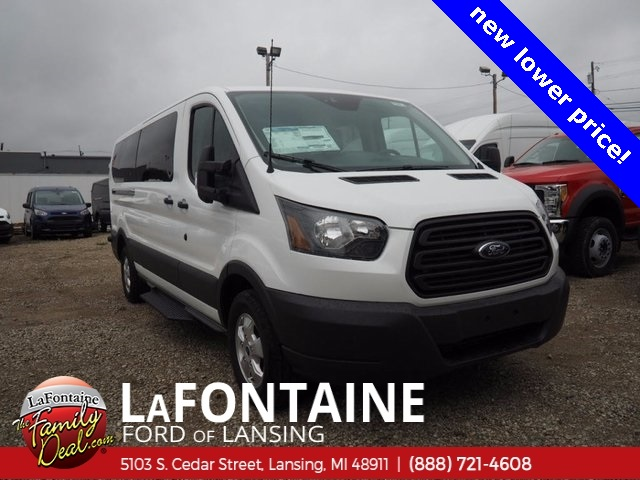 2017 Transit 350 Low Roof 4x2,  Passenger Wagon #17F944 - photo 3