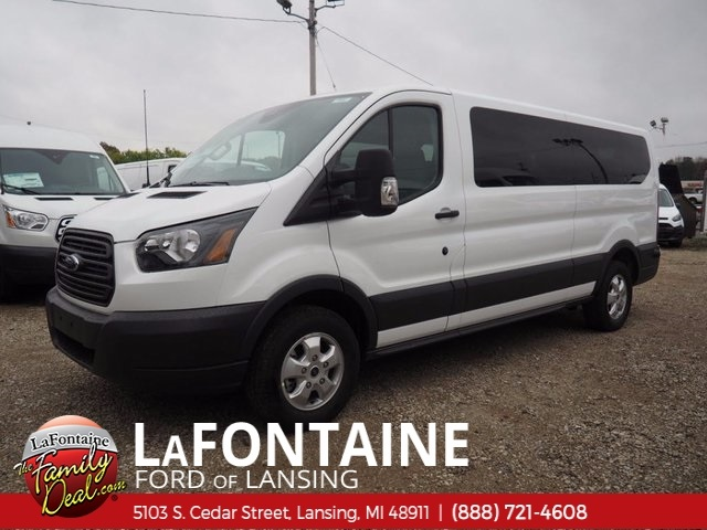 2017 Transit 350 Low Roof 4x2,  Passenger Wagon #17F944 - photo 9