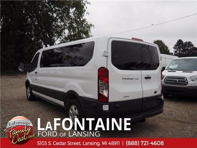 2017 Transit 350 Low Roof 4x2,  Passenger Wagon #17F944 - photo 8