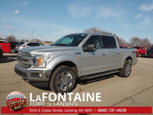 2018 F-150 Crew Cab 4x4, Pickup #18F157 - photo 1
