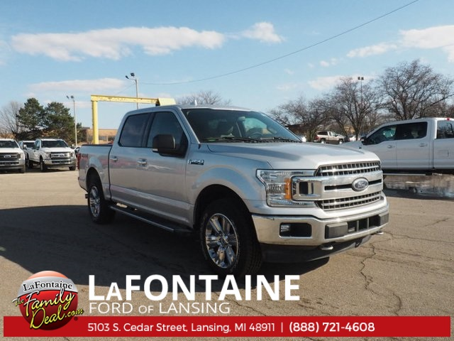 2018 F-150 Crew Cab 4x4, Pickup #18F157 - photo 3
