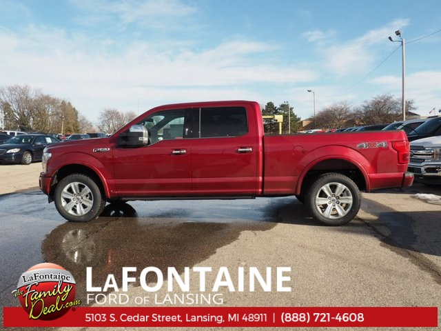2018 F-150 Crew Cab 4x4, Pickup #18F213 - photo 3