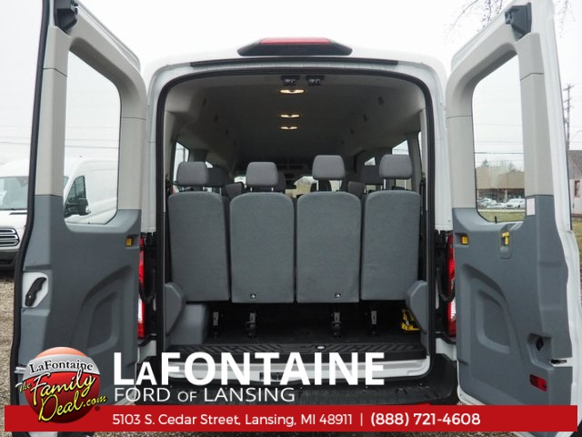 2018 Transit 350 Med Roof, Passenger Wagon #18F321 - photo 10