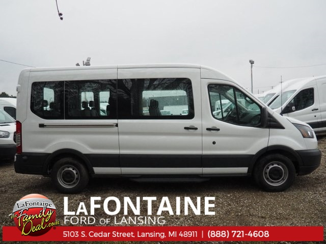2018 Transit 350 Med Roof, Passenger Wagon #18F321 - photo 3