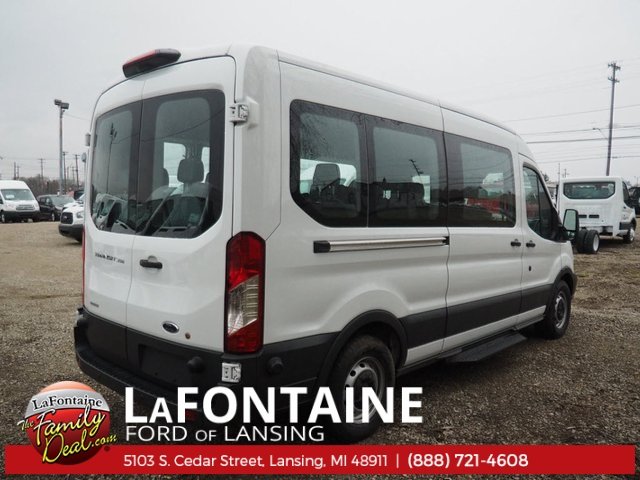2018 Transit 350 Med Roof, Passenger Wagon #18F321 - photo 2