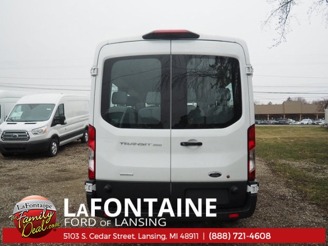 2018 Transit 350 Med Roof, Passenger Wagon #18F321 - photo 4