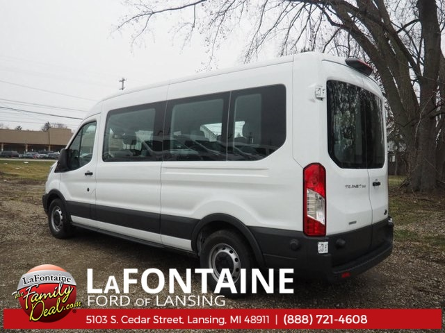 2018 Transit 350 Med Roof, Passenger Wagon #18F321 - photo 5